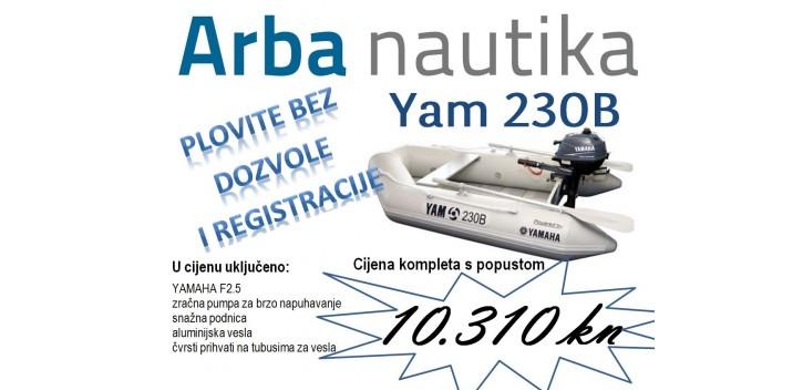 Yam 230B + F2.5 - komplet